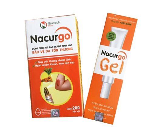 Kem trị sẹo Nacurgo gel