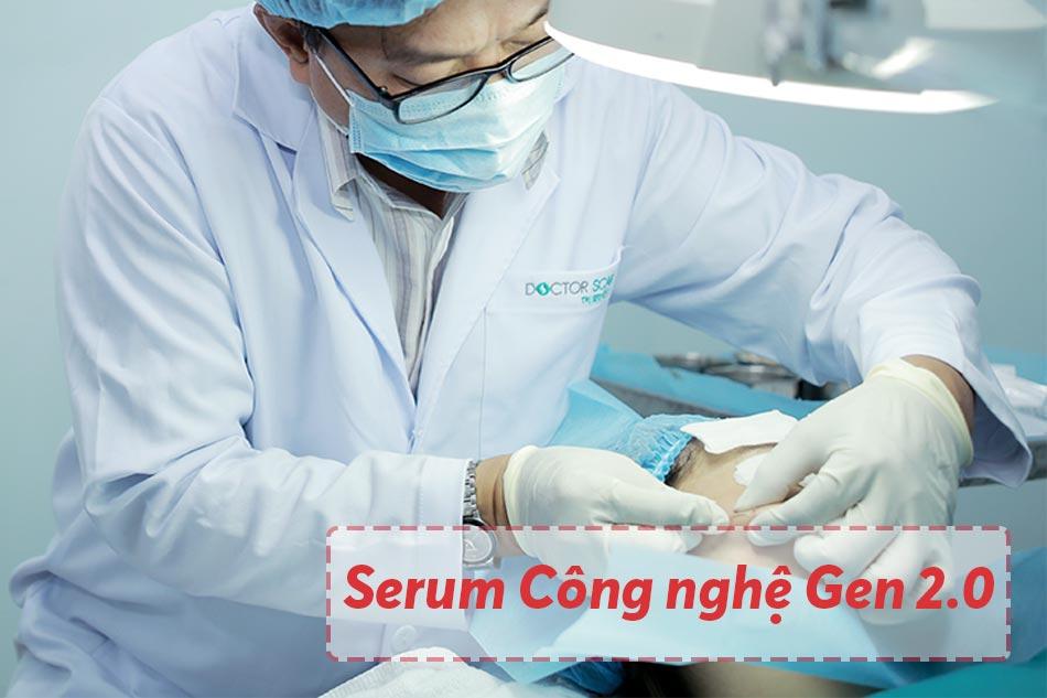 Sử dụng công nghệ Serum Công nghệ Gen 2.0