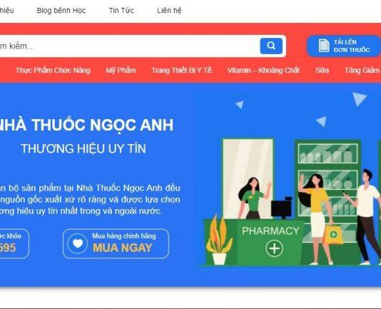 Trang chủ của nhà thuốc Ngọc Anh online